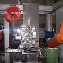 Machine for pipe cutting