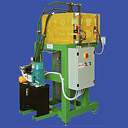 Cold room shearing machine