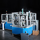 Flocked thermoforming line